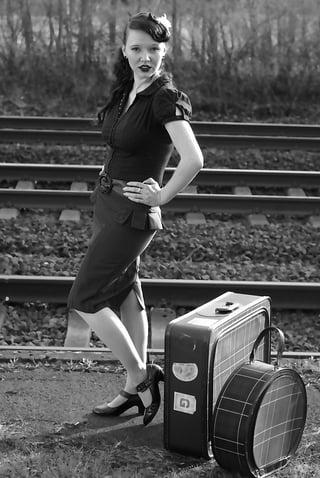 train travel 1940s