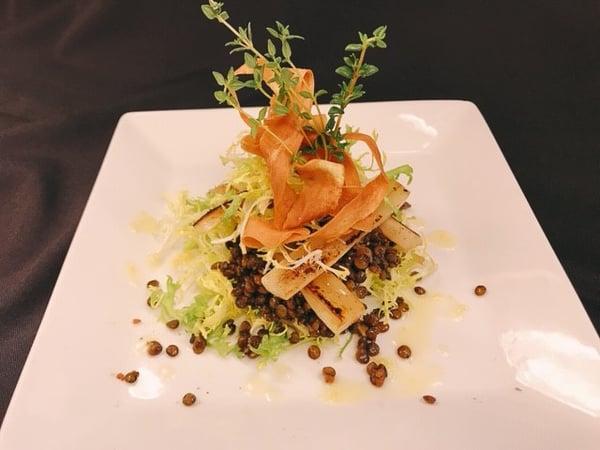 Warm Salad of Roasted Salsify